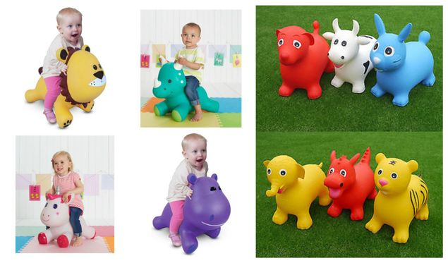 Inflatable Animal Hoppers